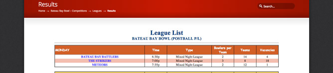 League-Results